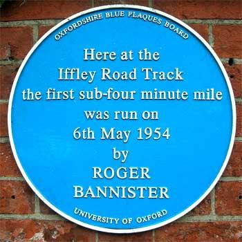 4 Minuten Meile von Roger Bannister