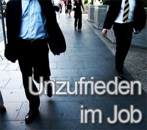 unzufrieden im Job